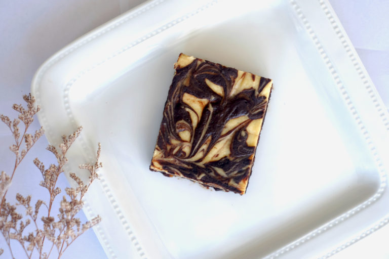 Chocolate Swirl Brownies