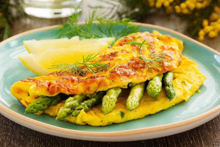 Spring Time Omelette